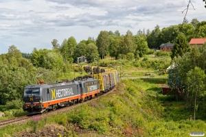 HCTOR 243.112+142.110 med GT 41808. Birsta - Skönvik 20.06.2018.