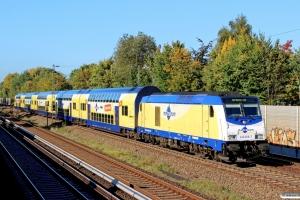 MET 246 008-7 med ME 83474. Hamburg-Hausbruch - Hamburg Unterelbe 11.10.2015.