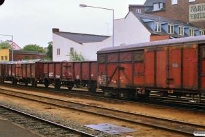 SNCF Gas afsporet. Odense 30.08.1988.