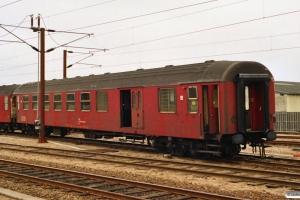 DSB BD 50 86 82-83 013-0 afsporet. Odense 02.05.1991.