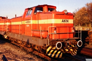 AKN V 2.014 og V 2.012. Kaltenkirchen 18.11.1989.