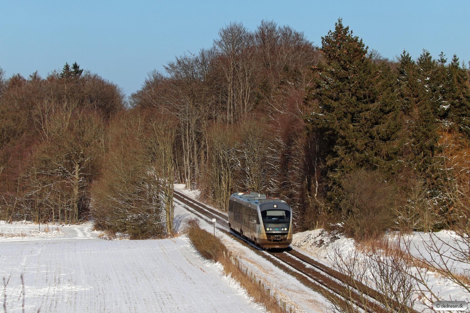 AT AR 4090 som RA 4641 Od-Svg. Km 33,0 Od (Kværndrup-Stenstrup) 06.02.2021.