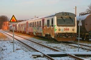 Arriva MR/D 60+MR/D 40. Meyenburg 19.12.2009.