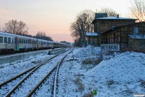 Arriva MR/D 92+MR/D 05. Meyenburg 19.12.2009.