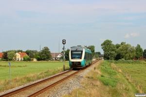 AT AR 1029 som RA 5819 Es-Rb. Km 9,0 Bm (Gredstedbro-Ribe Nørremark) 02.08.2014.