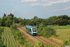AT AR 1023 som RA 5852 Rb-Es. Km 9,4 Bm (Gredstedbro-Ribe Nørremark) 02.08.2014.