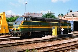 SNCB 5519. Gouvy 12.07.1989.