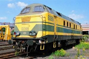 SNCB 6088. Gouvy 12.07.1989.