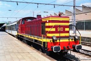 CFL 910. Luxemburg 12.07.1989.