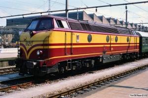 CFL 1820. Luxemburg 12.07.1989.