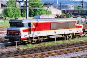 SNCF 15030. Luxemburg 12.07.1989.