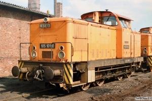 DR 105 101-0. Salzwedel 29.03.1991.