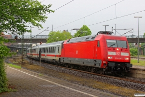 DB 101 048-7 med IC 2315. Hamburg-Harburg 10.05.2014.