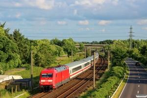 DB 101 116-2 med IC 2406. Flensburg-Weiche 17.06.2016.