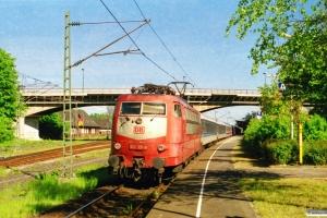 DB 103 131-9 med IR 2089. Flensburg 25.05.2001.