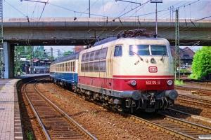 DB 103 174-9. Hamburg-Harburg 11.05.1990.