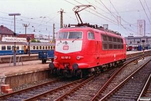 DB 103 197-0. Hamburg-Altona 10.08.1991.