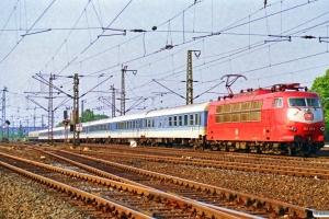 DB 103 211-9. Hamburg-Harburg 11.05.1990.