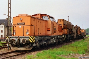 DR 110 963-6. Eilsleben 20.05.1991.