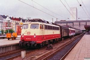 DB 113 270-3. Hamburg-Altona 10.08.1991.