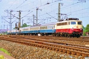 DB 114 495-5. Hamburg-Harburg 11.05.1990.