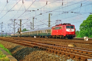 DB 111 068-3. Hamburg-Harburg 11.05.1990.