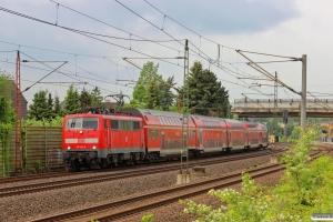 DB 111 136-8 med RE 4845. Ahlten 09.05.2014.