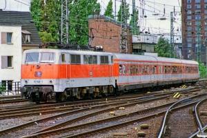 DB 111 168-1. Köln Hbf 14.07.1989.