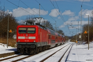 DB 112 133 med RE 4361. Papendorf 02.04.2018.