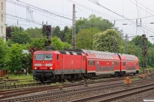 DB 143 162-6 med RB 14835. Verden 08.05.2014.