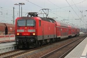DB 143 168-3 med RB 12560. Neuwied 24.01.2015.