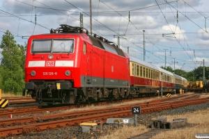 DB 120 126-8. Flensburg 28.07.2012.