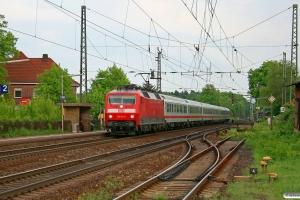 DB 120 132-6 med IC 1884. Radbruch 08.05.2009.