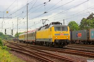 DB 120 502-0. Verden 08.05.2014.