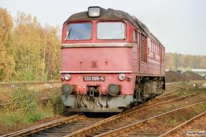 DR 120 095-5. Hagenow Land 16.10.1990.