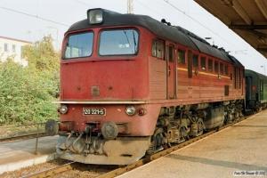 DR 120 321-5. Bad Kleinen 27.10.1990.
