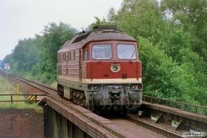 DR 132 156-1. Büchen 12.08.1989.