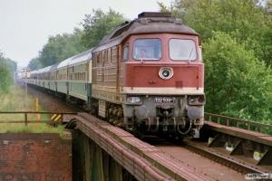 DR 132 530-7. Büchen 12.08.1989.