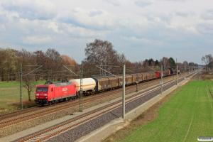 DB 145 013-9. Bardowick - Radbruch 22.03.2014.