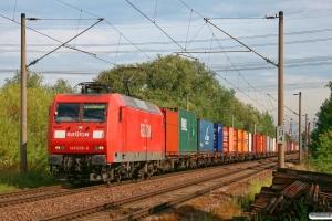 DB 145 038-6. Hamburg-Moorburg 28.08.2012.