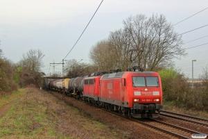 DB 145 069-1+140 821-4. Ahlten 21.03.2014.