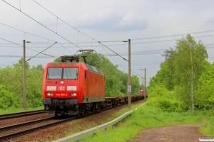 DB 145 078-2. Hamburg-Moorburg 10.05.2014.