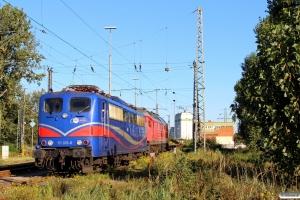 SRI/EGP 151 033-8 og LEG 232 416-8. Hamburg-Hohe-Schaar 11.10.2015.