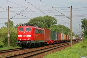 DB 151 036-1. Hamburg-Moorburg 08.05.2009.