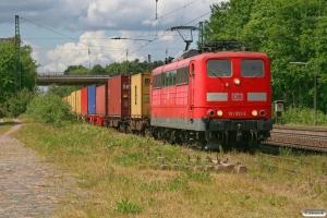DB 151 053-6. Radbruch 05.06.2009.