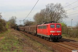 DB 151 061-9. Ahlten 21.03.2014.
