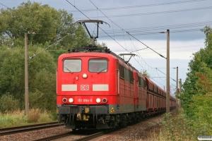 DB 151 094-0+151 106-2. Hamburg-Moorburg 15.09.2012.