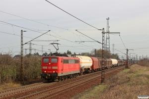 DB 151 095-7. Ahlten 21.03.2014.