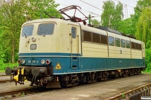 DB 151 117-9. Lehrte 18.05.1991.