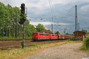 DB 151 133-6+151 073-4. Radbruch 05.06.2009.
